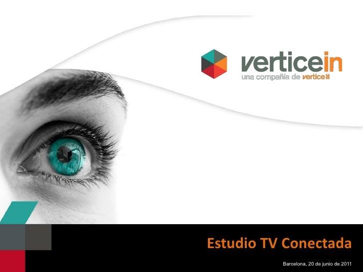 Estudio TV Conectada Barcelona, 20 de junio de 2011