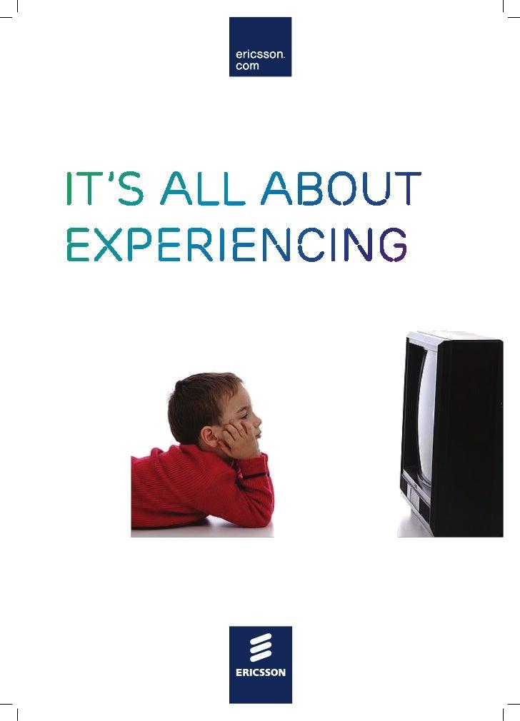 Tv consumer insights   ericsson consumer lab - 2010