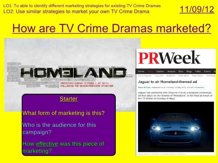 Tv crime drama marketing amend