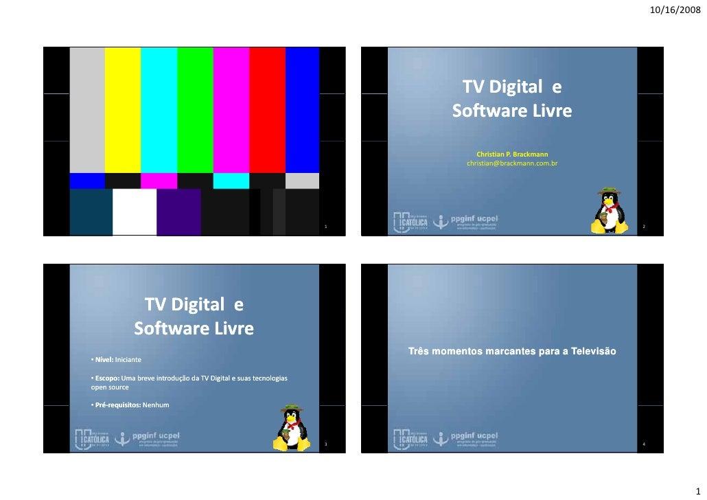 10/16/2008                                                                                     TVDigitale              ...