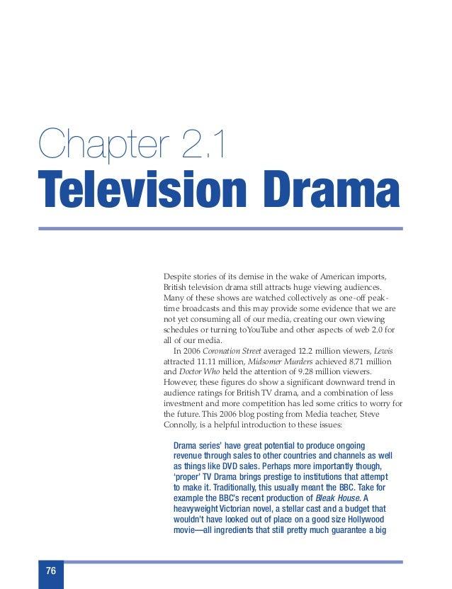 Ocr AS retake TV Drama Media essay feedback?