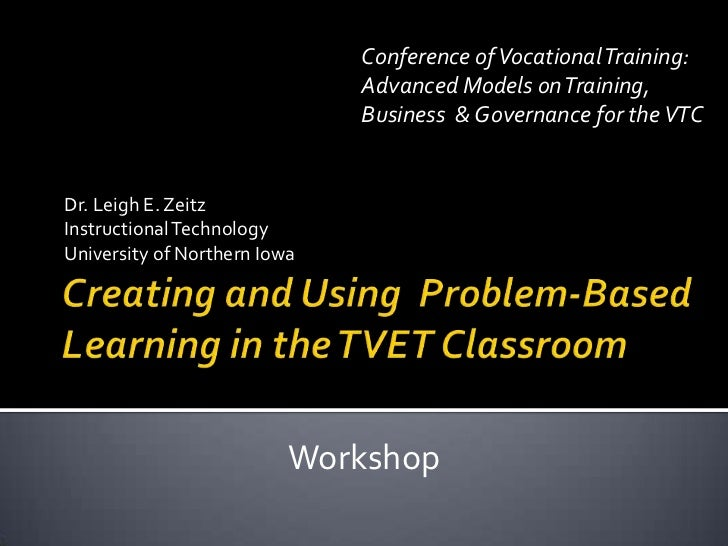 Conference of Vocational Training:                              Advanced Models on Training,                              ...