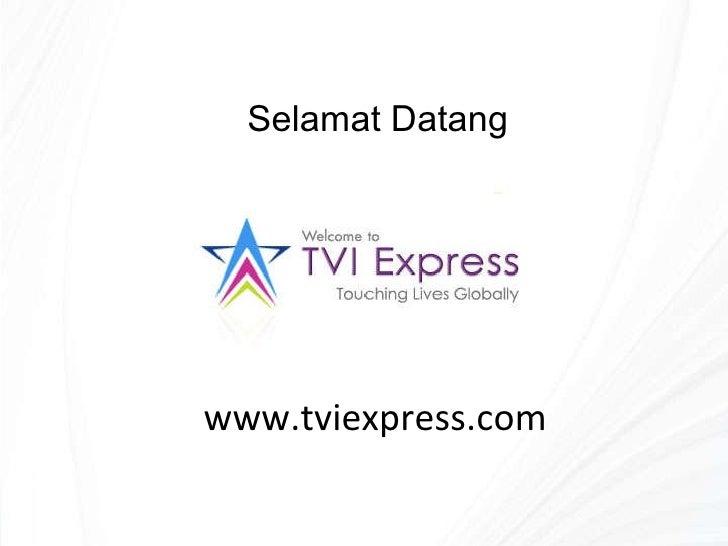 www.tviexpress.com Selamat Datang