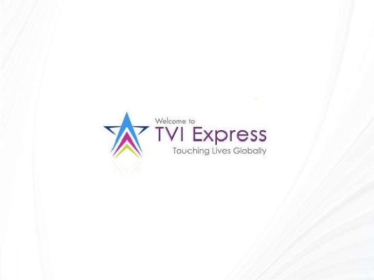 Tvi Travel and Earn Opportunity slideshow