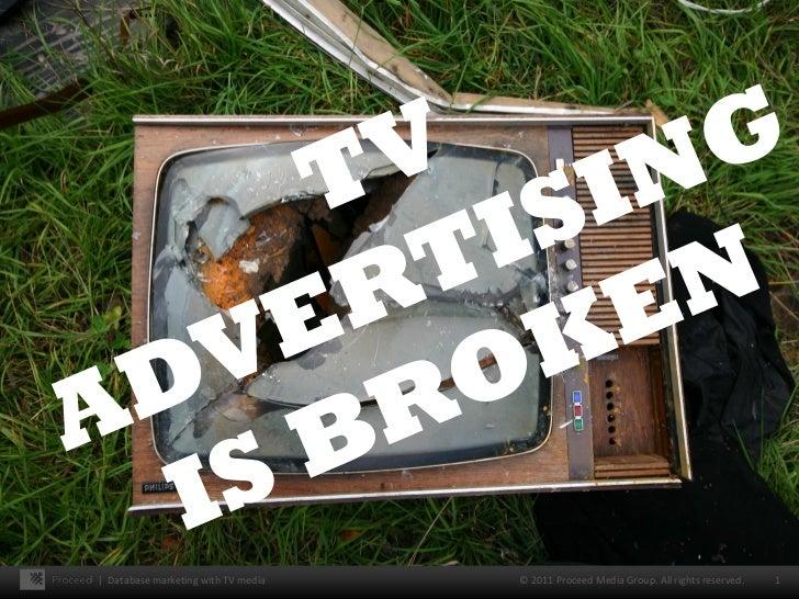 TV Advertising is Broken