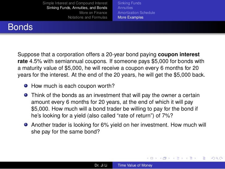 how is compound interest related to the time value of money