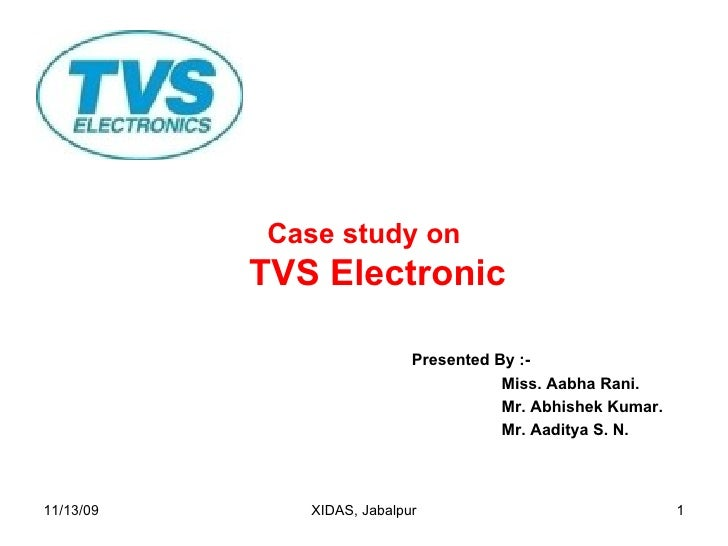 TVS Electronic