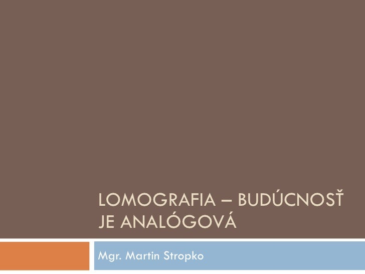 Tvt2010 lomografia