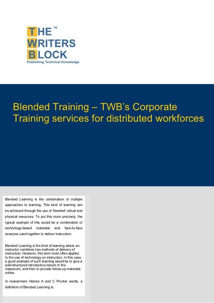 Twb position paper_blended_training