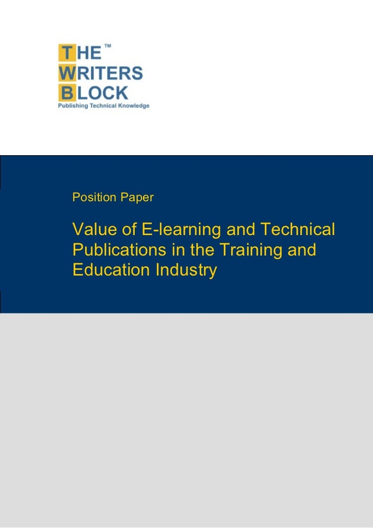 Twb position paper_e-learning_industry