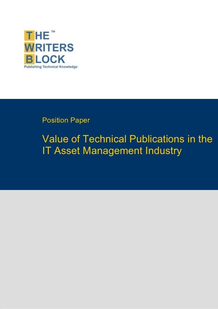 Twb position paper_it_asset_management_industry