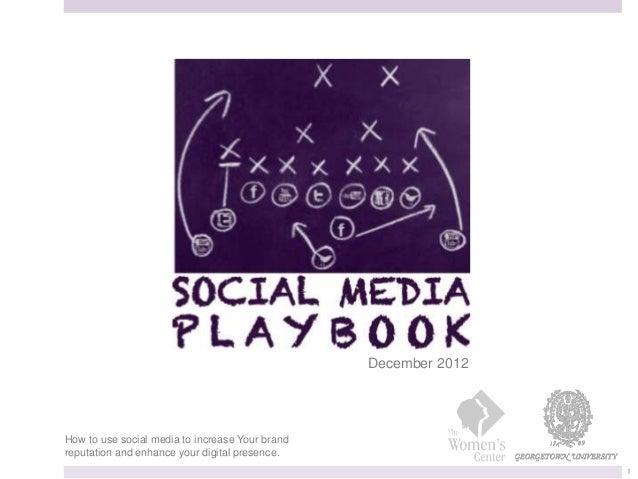 Social Media Playbook - MAR