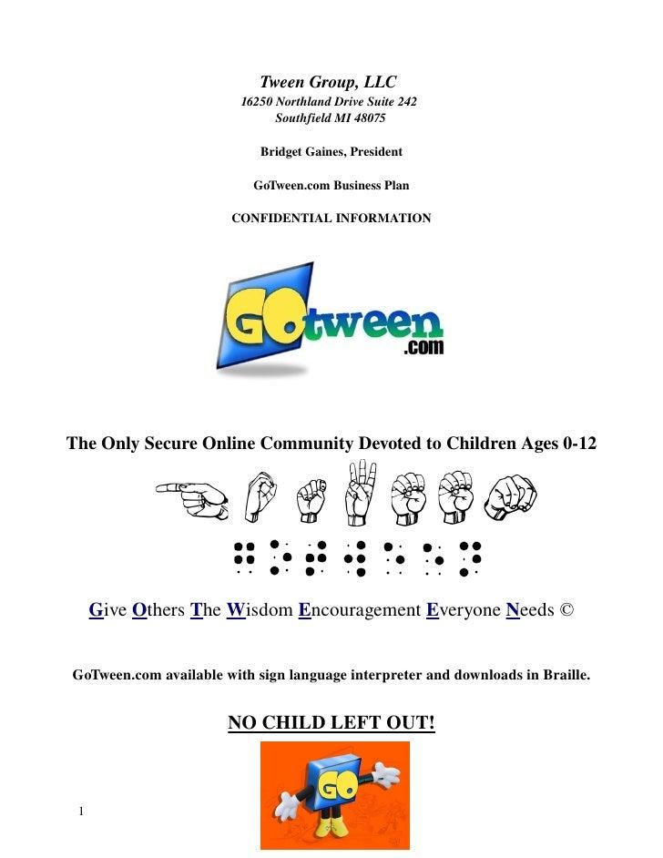 TweenGroup,LLC                          16250NorthlandDriveSuite242                                SouthfieldMI4...