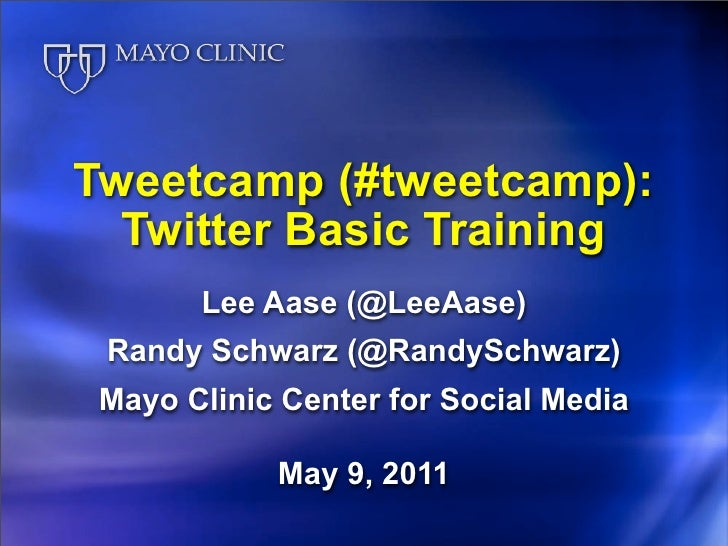 Tweetcamp V