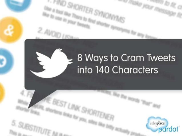 8 Ways to Cram Tweets into 140 Characters