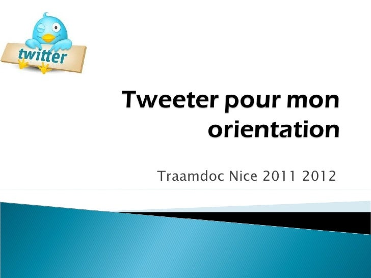 Traamdoc Nice 2011 2012