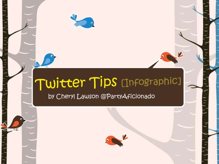 How to use Twitter [Infographic]