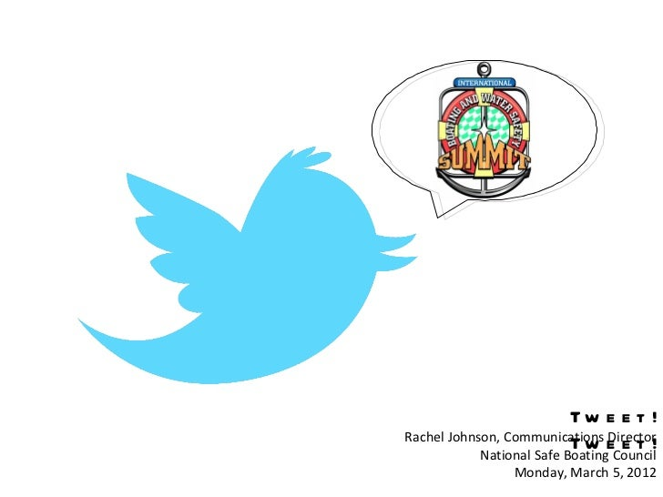 Tweet! Tweet! (A Crash Course to Social Media)