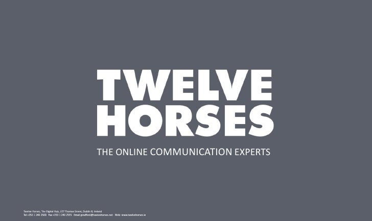 """Gabrielle Stafford, MD,Twelve Horses: """"Online Visualisation- What Users Want"""""""