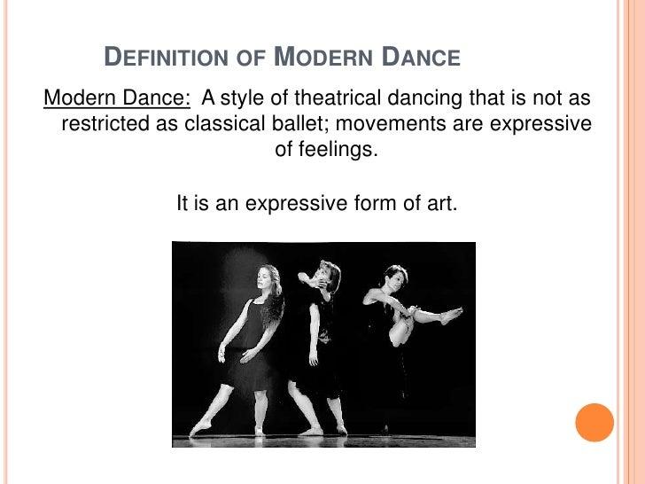 Twentieth Century Modern Dance