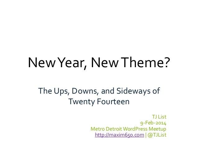 WordPress Twenty Fourteen Theme: A Review