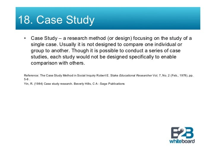 yin 1984 case study research Providing a complete portal to the world of case study research, the fifth edition of robert k yin's bestselling text offers comprehensive coverage of the design and use of the case study method as a valid research tool.