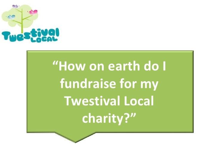 Twestival Fundraising Sept 3 2009