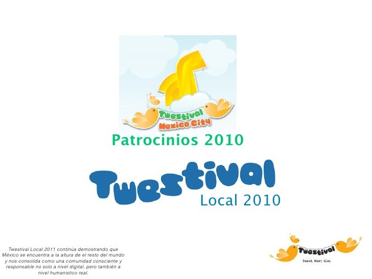 Twestival Local 2011 Patrocinios.