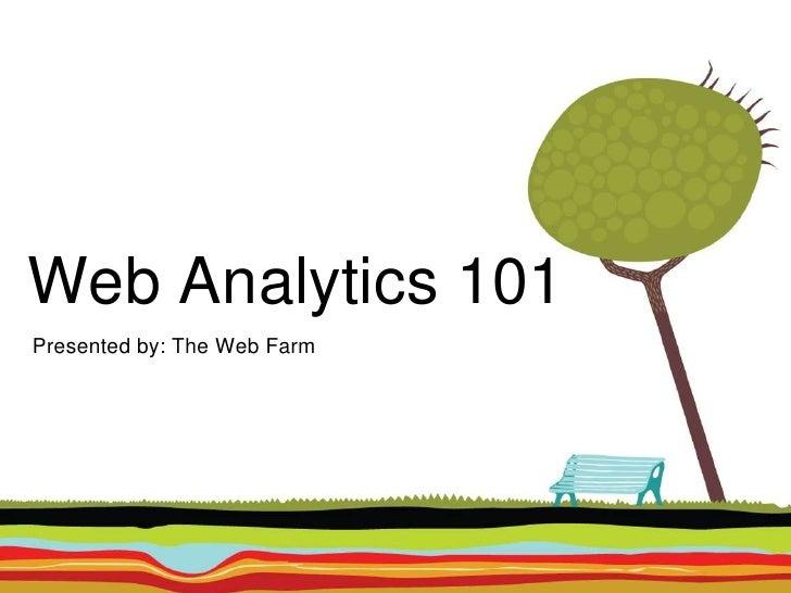Web Analytics 101 - ChicagoCOUNTS