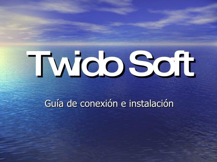 Twido Soft Guía de conexión e instalación