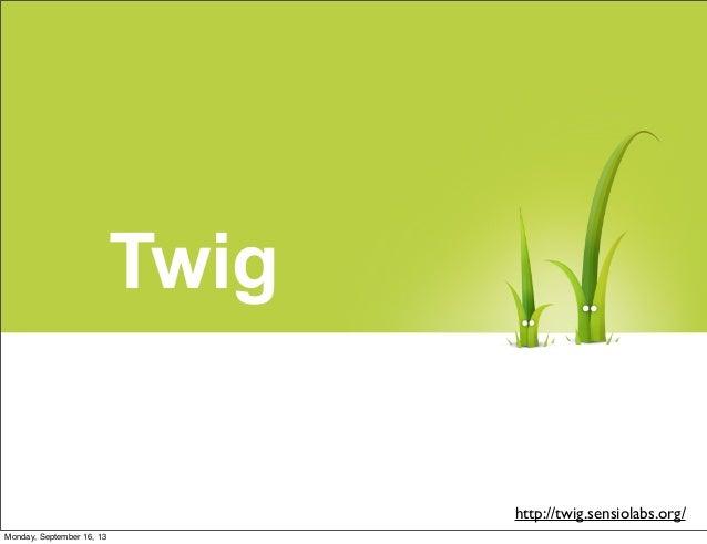 Empezando con Twig