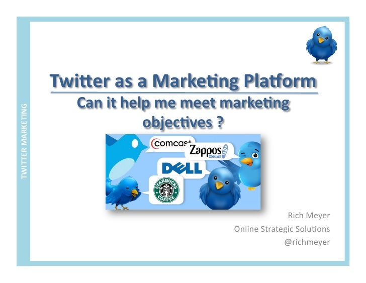 Twitter as a marketing tool with proven ROI