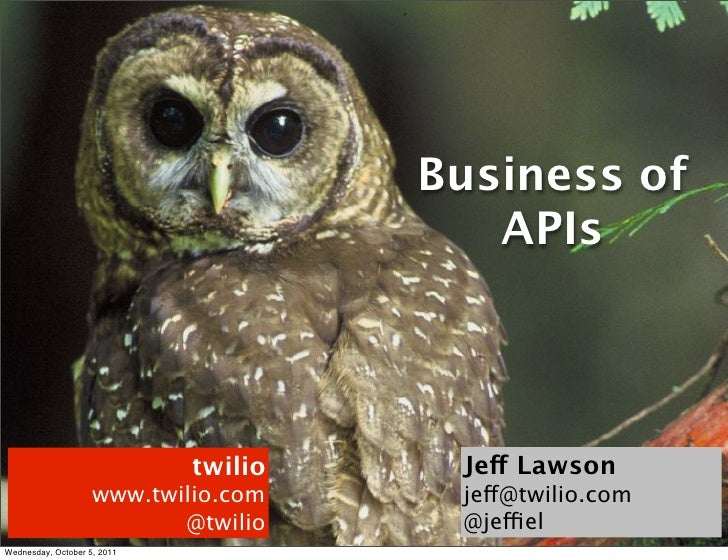 Business of                                         APIs                             twilio    Jeff Lawson                ...