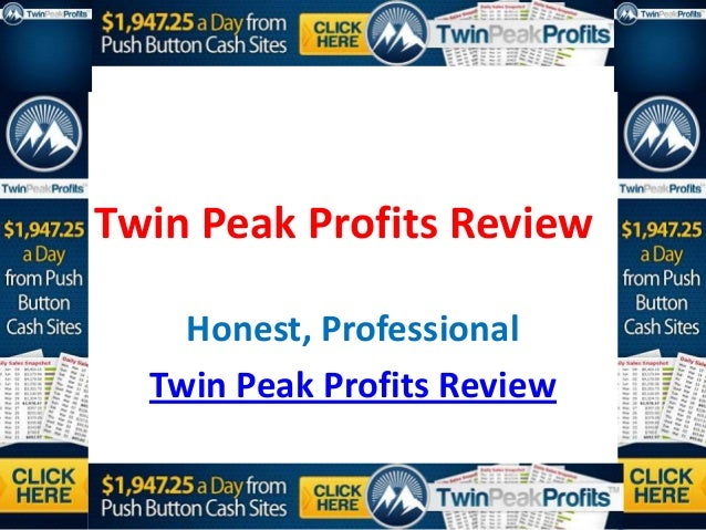 Twin Peak Profits Review    Honest, Professional  Twin Peak Profits Review