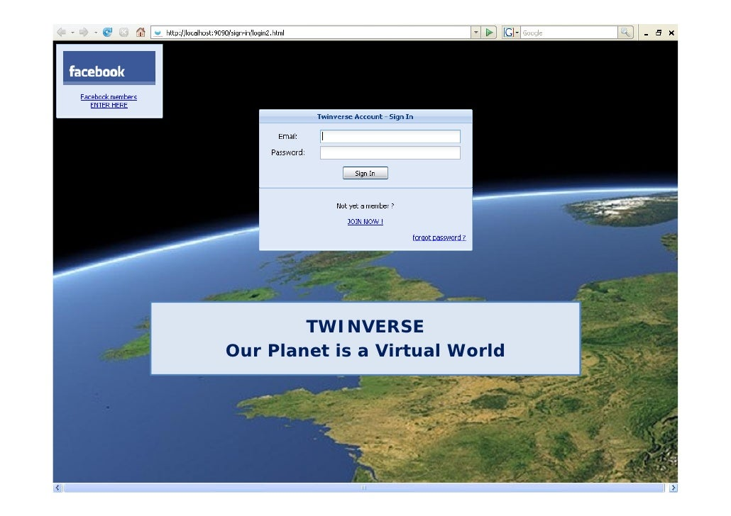 TWINVERSE Our Planet is a Virtual World