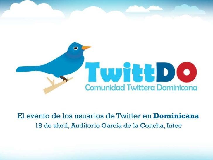 Twittdo ponencia sábado