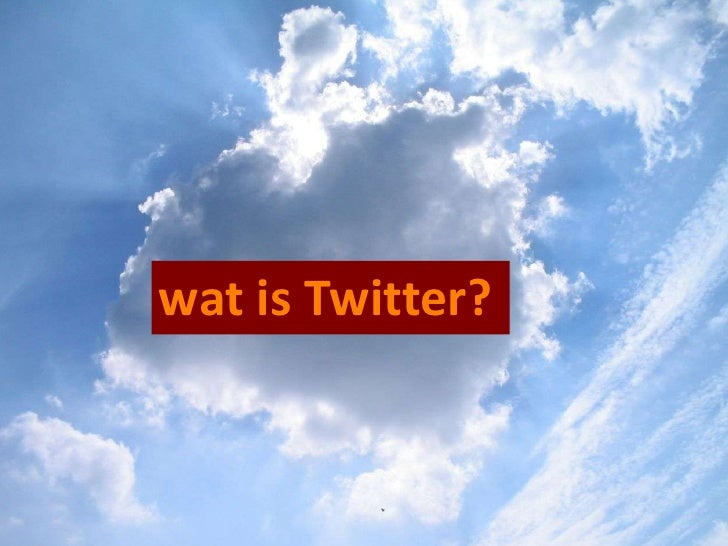 Twitter uitgelegd in het Nederlands