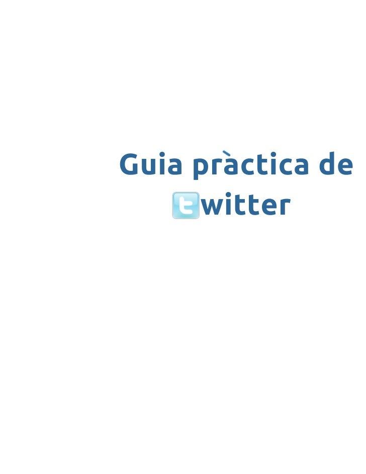 Guia de Twitter en català