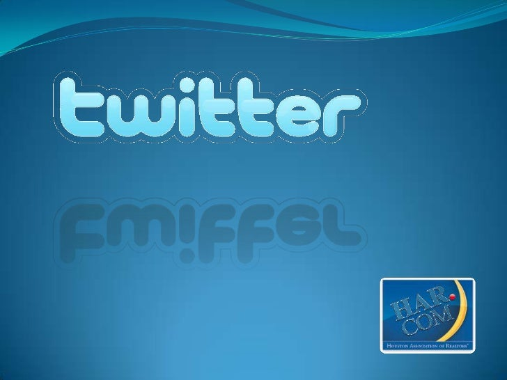 -An information networkTwitter is a real-time information network thatconnects you to the latest information about whatyou...