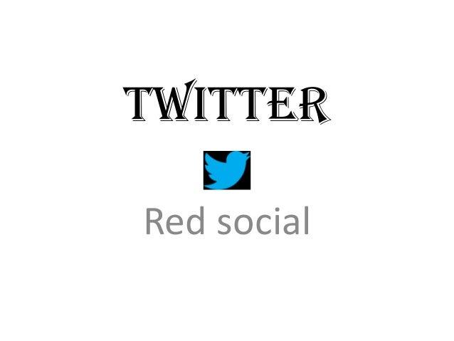 TwitterRed social