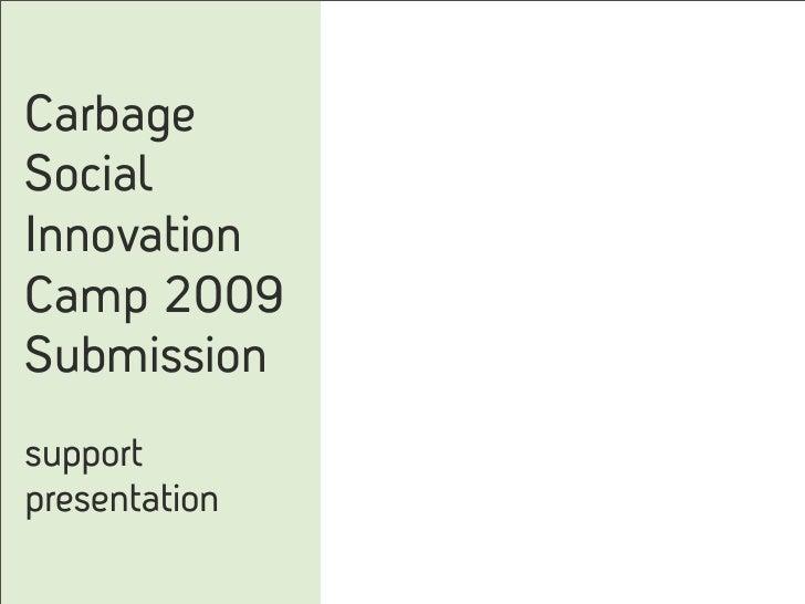 Carbage SiCamp June 09