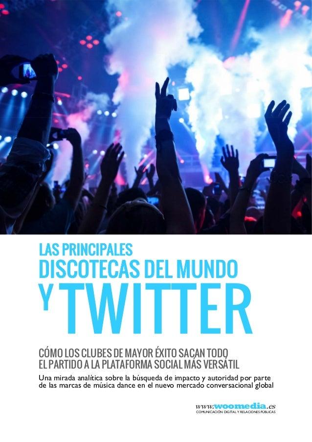 Estrategias Twitter: Las principales discotecas y Twitter | Woo media