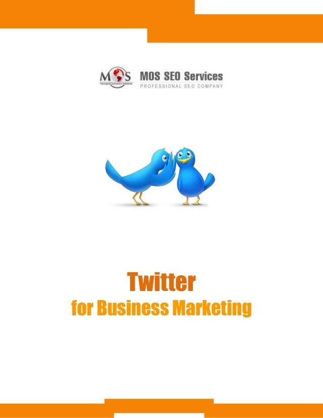 Twitter for Business Promotion | Marketing with Twitter