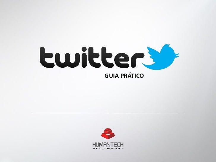 Twitter - Guia prático Humantech