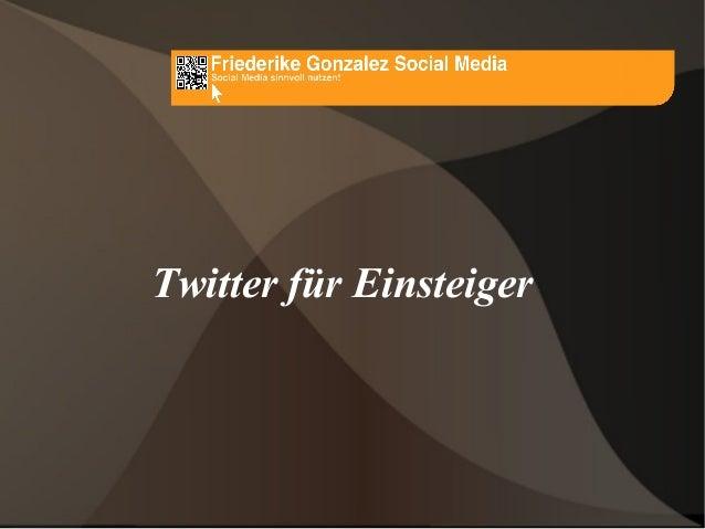 Twitter für Einsteiger
