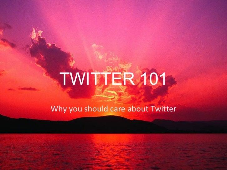 Twitter 101 jessbennett