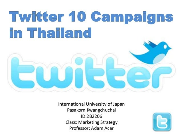 International University of Japan     Pasakorn Kwangchuchai            ID:2B2206    Class: Marketing Strategy      Profess...