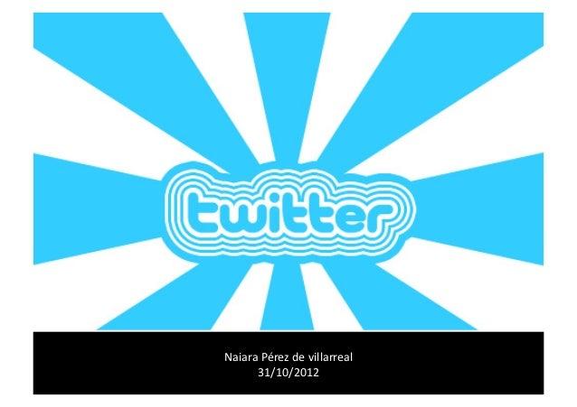 Radiografía de un canal de Twitter