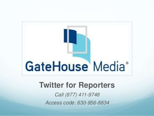 Twitter for Reporters