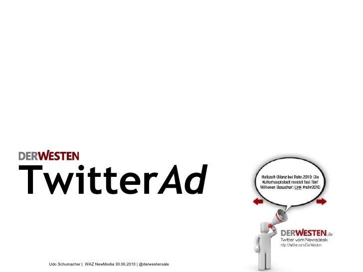 TwitterAds from DerWesten.de